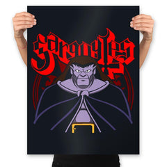 Gargoyle Metal - Prints - Posters - RIPT Apparel