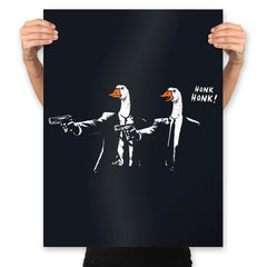 Goose Fiction - Prints - Posters - RIPT Apparel