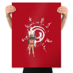 Graff Naruto - Prints - Posters - RIPT Apparel