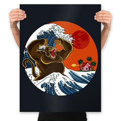 Great Monster From Kanagawa - Prints - Posters - RIPT Apparel