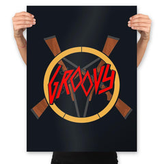 Groovy Demon Slayer - Prints - Posters - RIPT Apparel