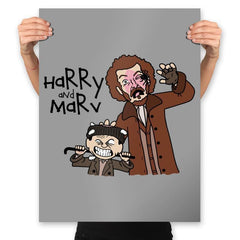 Harry and Marv! - Prints - Posters - RIPT Apparel