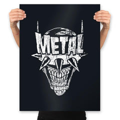 Heavy Metal Laughing-Bat - Anytime - Prints - Posters - RIPT Apparel