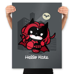 Hello Kate - Prints - Posters - RIPT Apparel