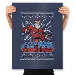 Ho-Man! - Ugly Holiday - Prints - Posters - RIPT Apparel