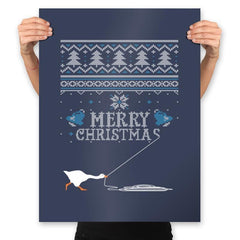 Honked Christmas - Prints - Posters - RIPT Apparel