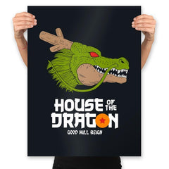 House of the dragon - Prints - Posters - RIPT Apparel