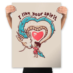 I Like Your Spirit - Prints - Posters - RIPT Apparel