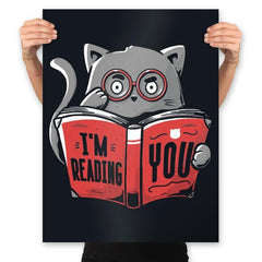 I'm Reading You - Prints - Posters - RIPT Apparel