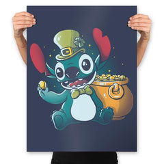 Irish Alien - Prints - Posters - RIPT Apparel