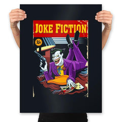 Joke Fiction HA - Prints - Posters - RIPT Apparel