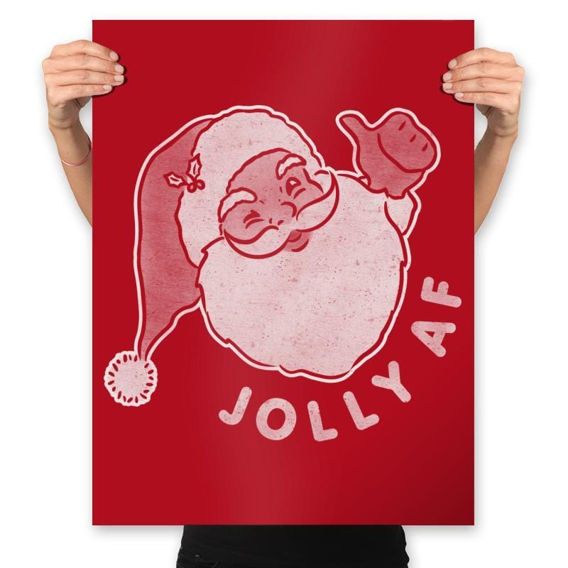 Jolly AF - Prints - Posters - RIPT Apparel