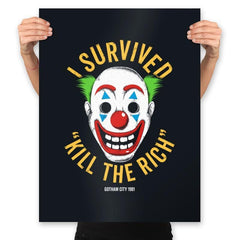 Kill The Rich Survivor - Prints - Posters - RIPT Apparel