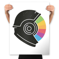 Kodachrome Space - Prints - Posters - RIPT Apparel