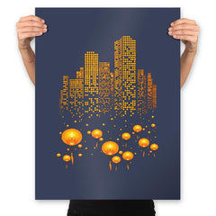 Lantern City - Prints - Posters - RIPT Apparel