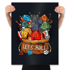 Let's Roll - Prints - Posters - RIPT Apparel