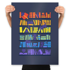 Library Kittens - Prints - Posters - RIPT Apparel