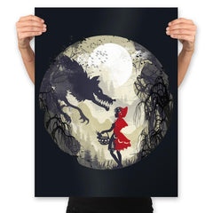 Little Red Head - Prints - Posters - RIPT Apparel