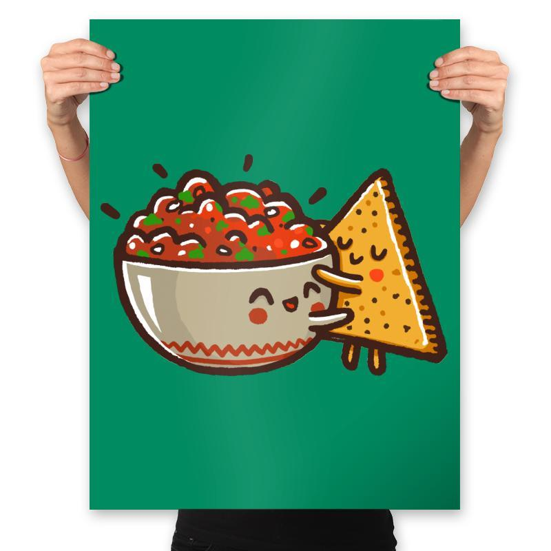 Love Restaurant Style - Prints - Posters - RIPT Apparel