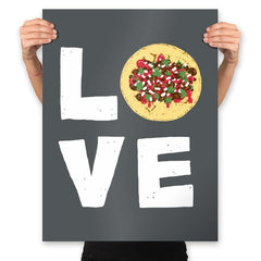 Love Tacos - Prints - Posters - RIPT Apparel