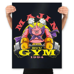 Majin Buu Gym - Prints - Posters - RIPT Apparel