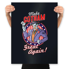Make Gotham Great Again - Anytime - Prints - Posters - RIPT Apparel
