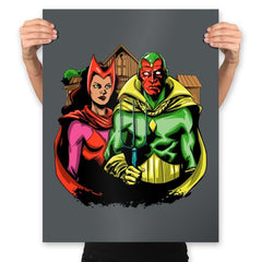 Marvelous Gothic - Prints - Posters - RIPT Apparel