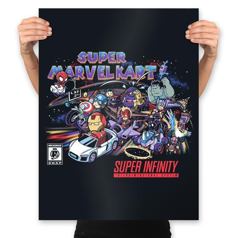 Marvelous Kart - Anytime - Prints - Posters - RIPT Apparel