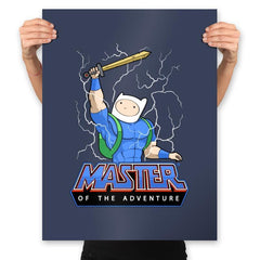 Master of time and adventure - Prints - Posters - RIPT Apparel
