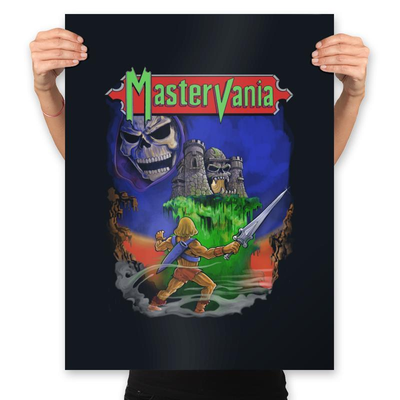 Mastervania - Anytime - Prints - Posters - RIPT Apparel