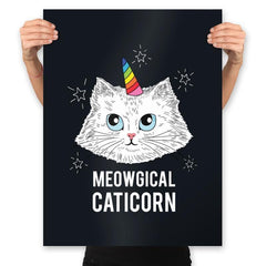 Meowgical Caticorn - Prints - Posters - RIPT Apparel
