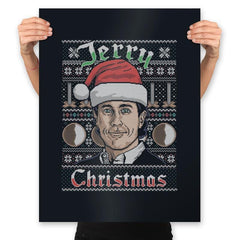 Merry Jerry Christmas - Prints - Posters - RIPT Apparel