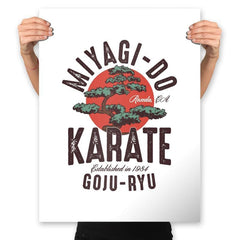 Miyago-Do Karate - Prints - Posters - RIPT Apparel