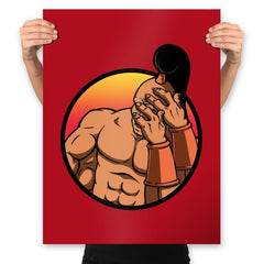 Mortal Facepalm - Prints - Posters - RIPT Apparel