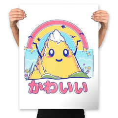 Mount Kawaii - Prints - Posters - RIPT Apparel