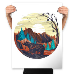 Nature Chill - Prints - Posters - RIPT Apparel