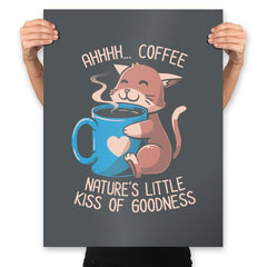 Nature's Little Kiss of Goodness - Prints - Posters - RIPT Apparel