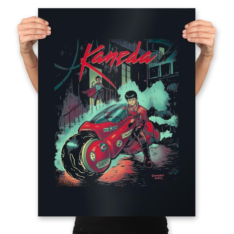 Neo-Tokyo Rain - Anytime - Prints - Posters - RIPT Apparel