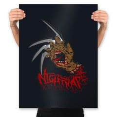 Nightmare Hand - Prints - Posters - RIPT Apparel