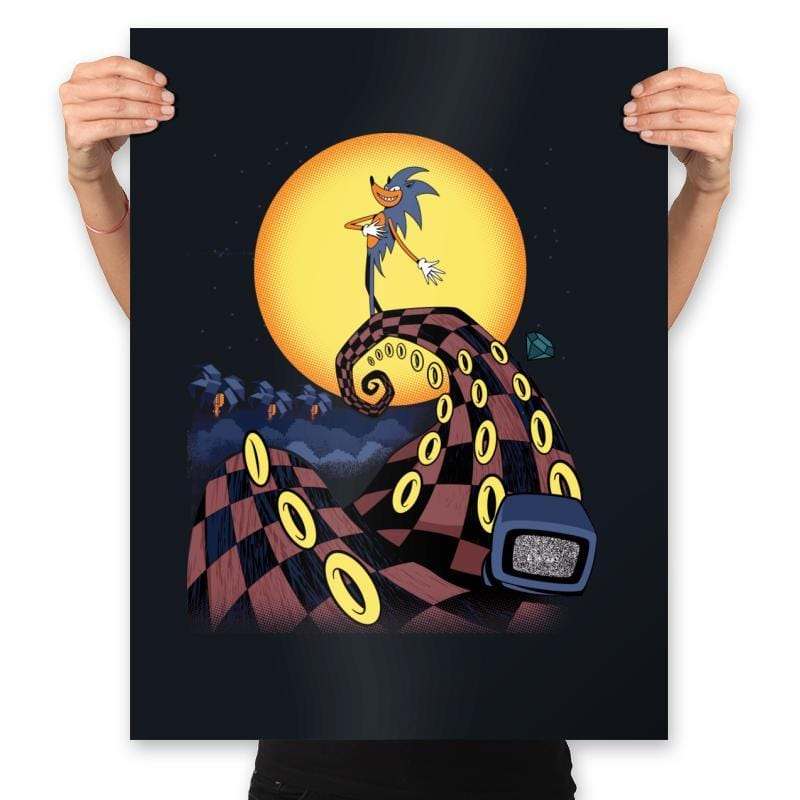 Nightmare Of The Rings - Prints - Posters - RIPT Apparel