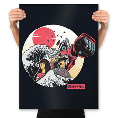 Great Love of Kanagwa Wave - Prints - Posters - RIPT Apparel