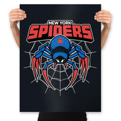 NY Spiders - Prints - Posters - RIPT Apparel