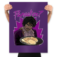 Pancakes - Anytime - Prints - Posters - RIPT Apparel