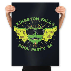 Pool Party '84 - Prints - Posters - RIPT Apparel