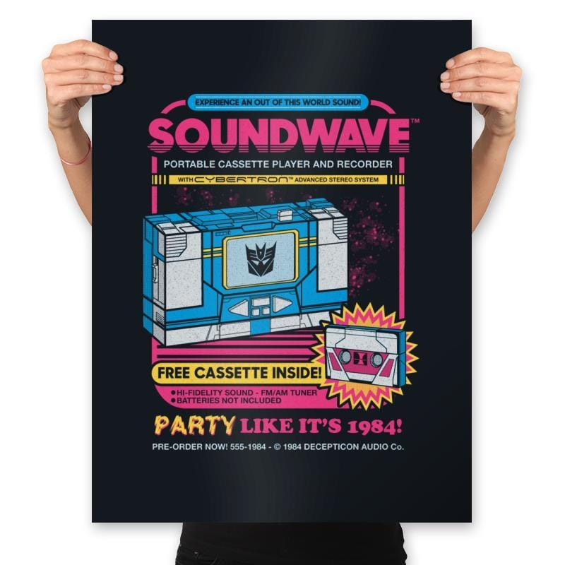 Pump Up The Volume - Anytime - Prints - Posters - RIPT Apparel