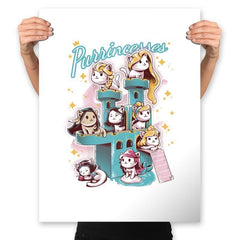 Purrrincess - Prints - Posters - RIPT Apparel