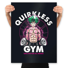 Quirkless Gym - Prints - Posters - RIPT Apparel