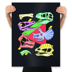 Radical Dinos - Prints - Posters - RIPT Apparel