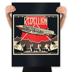 Rebellion - Transport Ship - Prints - Posters - RIPT Apparel