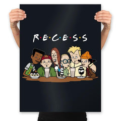 Recess Forever - Prints - Posters - RIPT Apparel